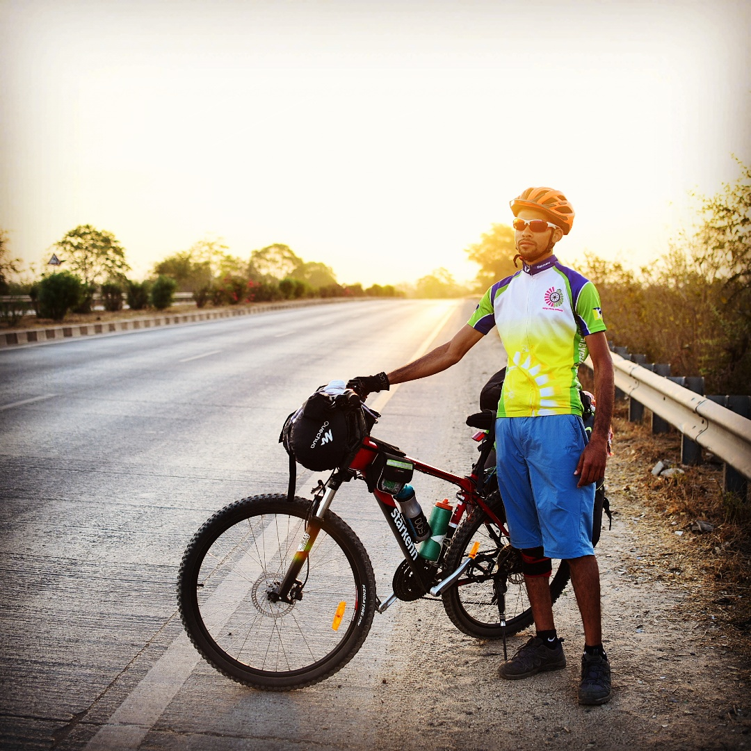 Sudhanshu Verma - Indian backpacker